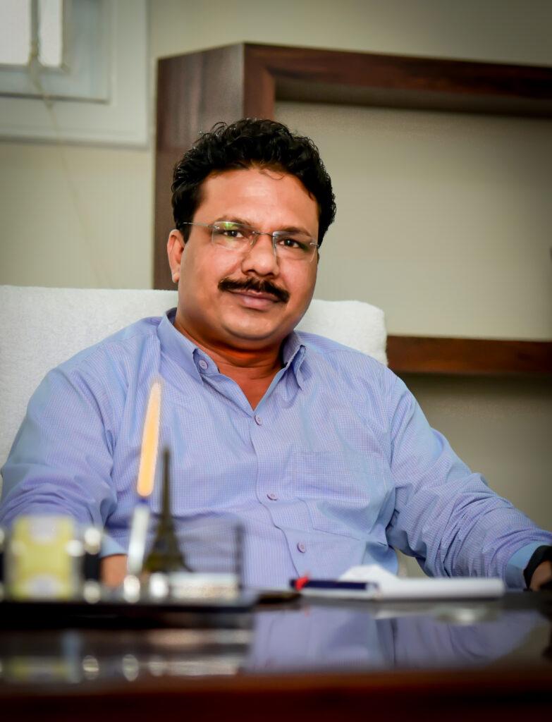 mr. Anup director of am world school