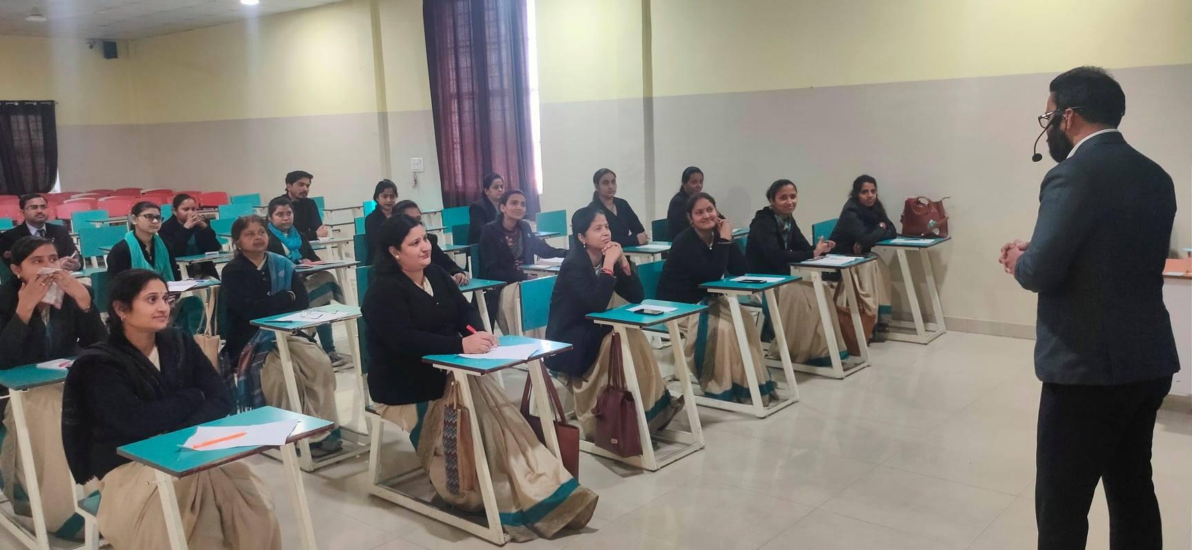 Teachers training workshop am world school