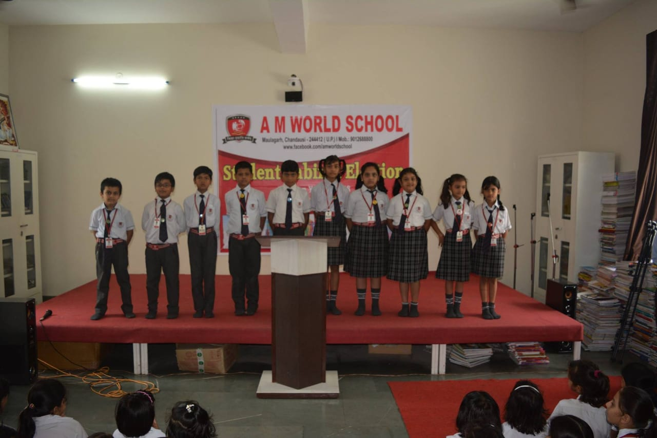 Personality development workshop am world school