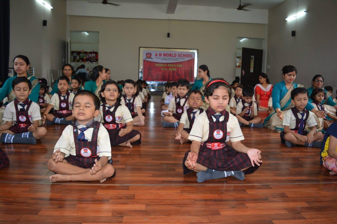 Meditation workshop am world school