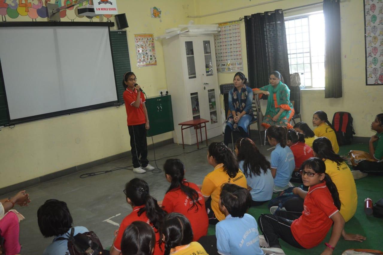 Remove stage fear workshop am world school
